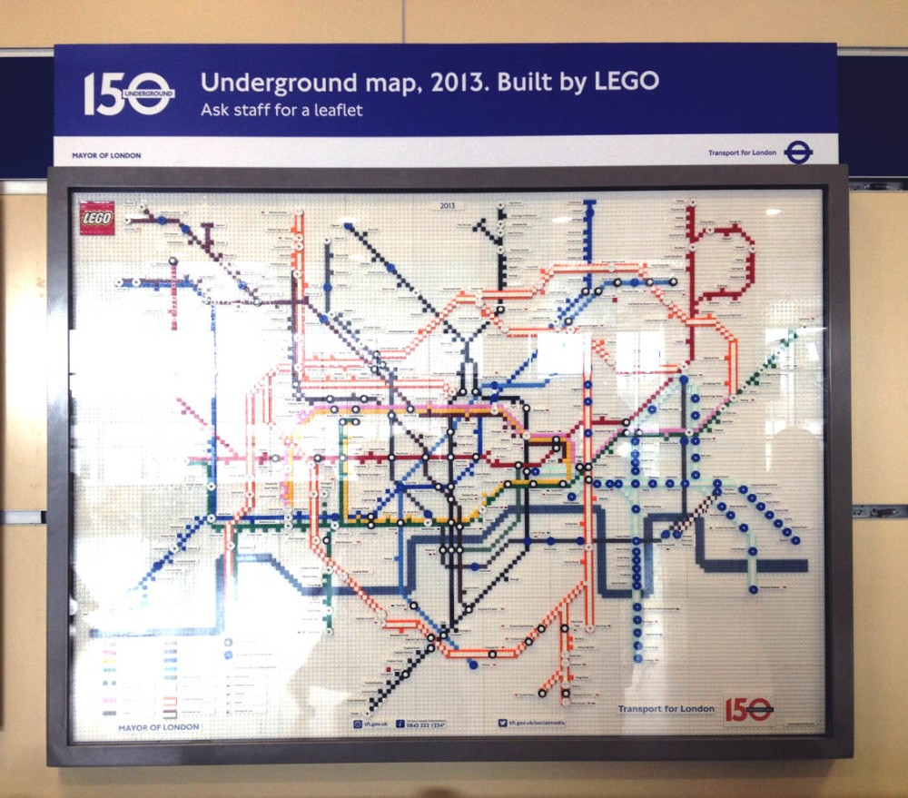 LEGO TUBE MAP_STRATFORD