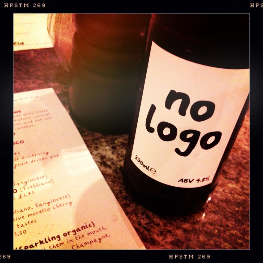 No logo beer