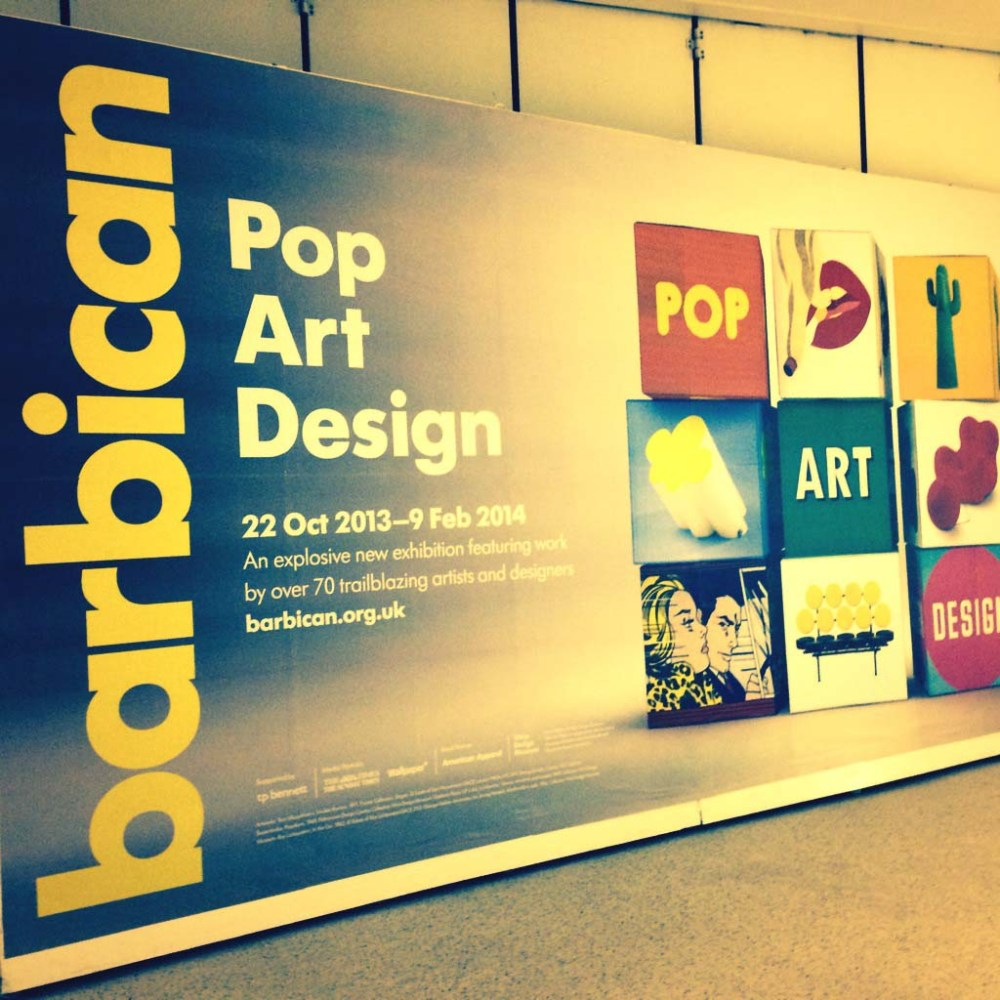 Barbican 'Pop Art Design' Poster
